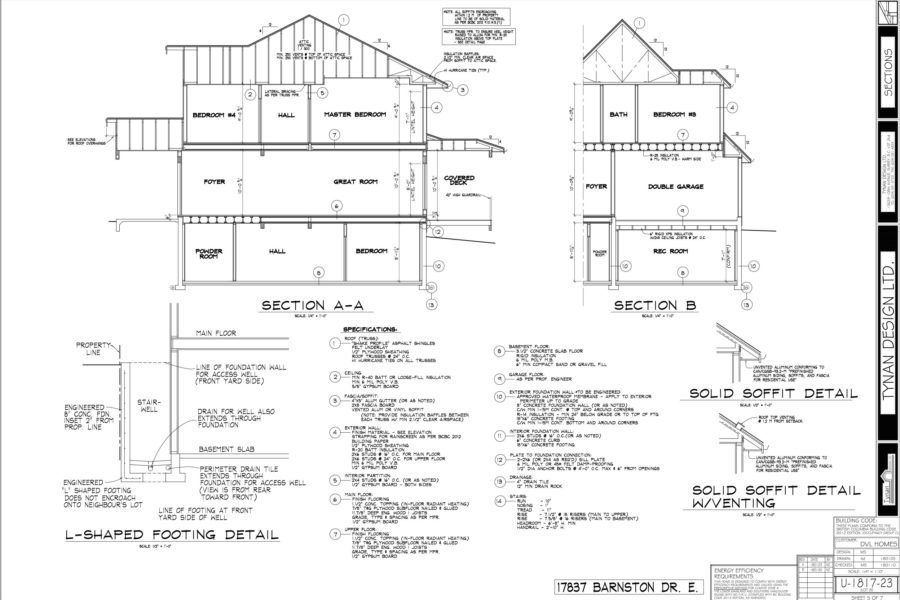 The Village at Fraser Heights: 3400-3800 ft² / Lot Size: 4000 ft²