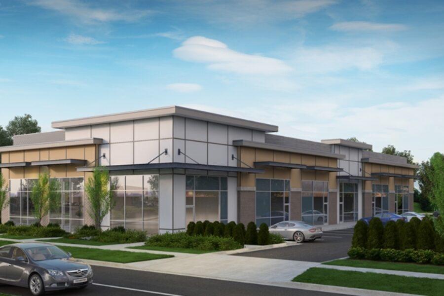 Grandview Centre: 9577 ft² Commercial Development / 30574 ft² Site